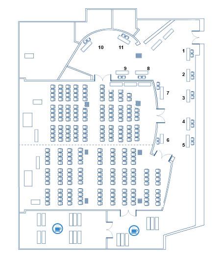 план выставки при конференции